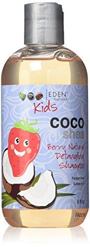 EDEN BodyWorks Coco Shea Berry Detangling Shampoo, 8oz