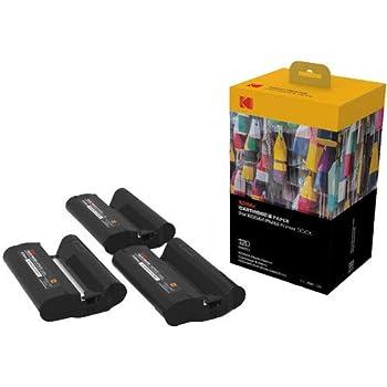KODAK Dock Plus & Dock Photo Printer Cartridge PHC-120 - Cartridge Refill & Photo Sheets - 120 Pack