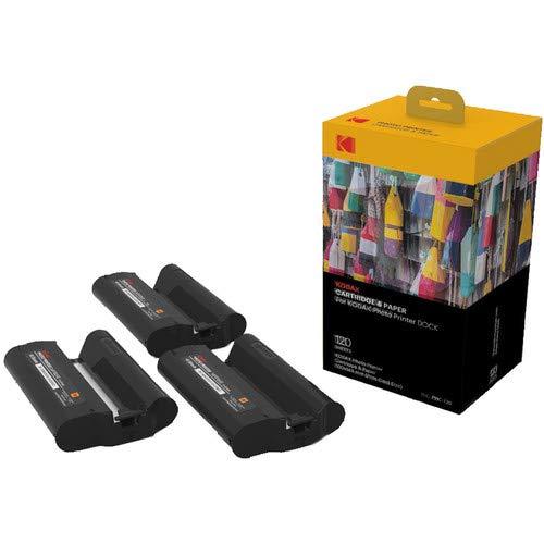 Kodak Station & W-LAN Fotodrucker-Patrone-PHC– Nachfüllpatrone und Fotopapiere - 120 Blätter