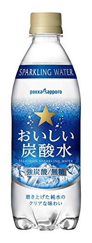ポッカサッポロ おいしい炭酸水 500ml×本
