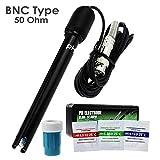 0-14 PH Sonda De Electrodo De Conector BNC 300 Cm Cable Para Medidor De PH Controlador Del Monitor Para Acuario Hidropónico Planta Piscina Spa