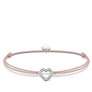Thomas Sabo Damen Armband Little Secret Herz 925 Sterling Silber LS029-401-19-L20v