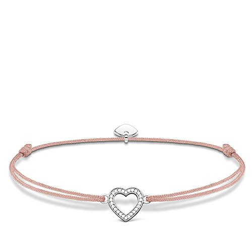 THOMAS SABO Damen Armband Little Secret Herz 925 Sterling Silber LS029-401-19-L20v