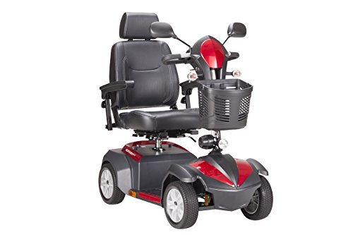 """Drive Medical Ventura Power Mobility Scooter, 4 Wheel, 20"""" Captains Seat"""