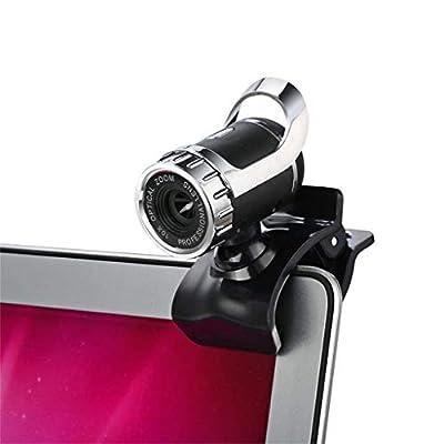 360 Degree USB 12M HD Webcam Web Cam Clip-on Di...