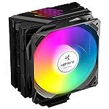 upHere Ventola per CPU, Compatibili con Intel e AMD Ventola da 120mm LED ARGB PWM Ventola, LGA...
