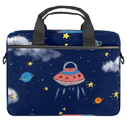 Laptop Bag Alien Cabin Notebook Sleeve with Handle 13.4-14.5 inches Carrying Shoulder Bag Briefcase