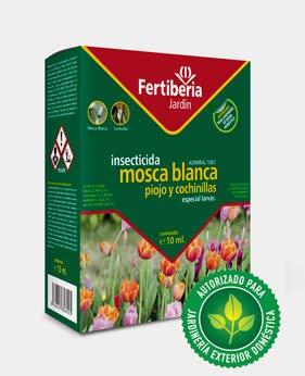 fertiberia Insecticida Jardin Mosca Blanca, Piojo y Cochinillas 10 ml