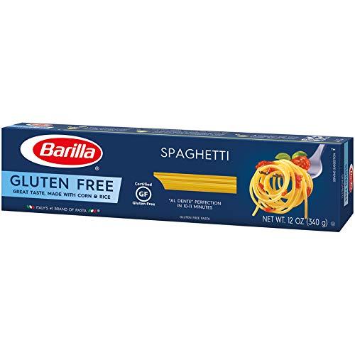 Barilla Gluten Free Pasta, Spaghetti, 12 Ounce (Pack of 12)