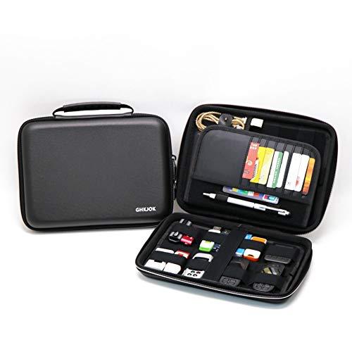 LinZec Multi-Function Digital EVA Storage Bag, Large Capacity U Disk U...