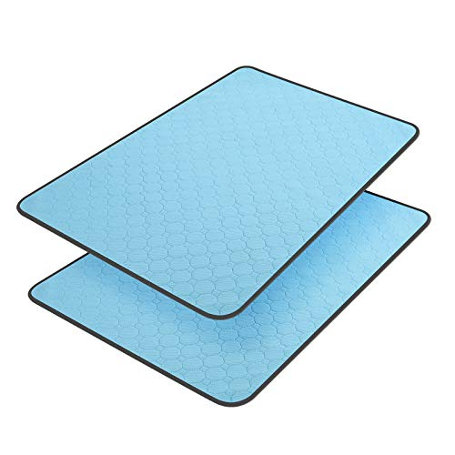 BRIGHT PAWS Washable Pee Pads for Dogs, Pee Pads Waterproof Potty Training Pad for Dogs, 35