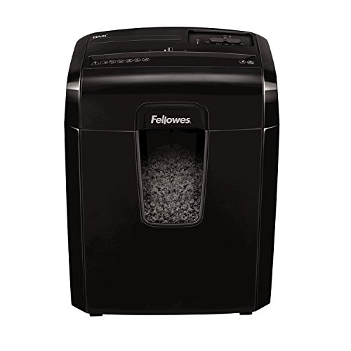 Fellowes 8MC destructora trituradora de papel, corte en microparticulas, 8 hojas