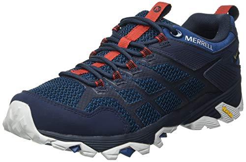 Merrell MOAB FST 2 GTX, Zapatillas para Caminar Hombre, Azul (Sailor), 40 EU