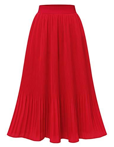 Falda Roja  marca DRESSTELLS