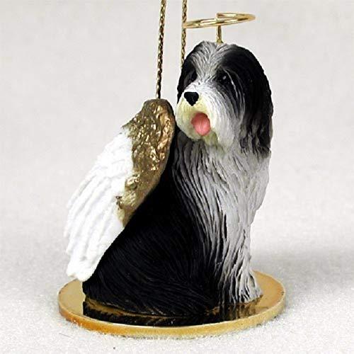 Bearded Collie Angel Dog Ornament