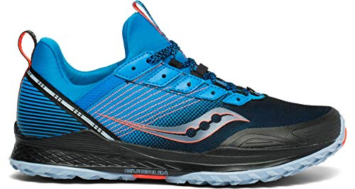 Saucony Men's S20521-2 Mad River TR Trail Running Shoe, Blue/Navy - 11 M US