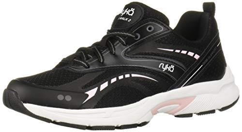 Ryka Women's Sky Walk 2 Walking Shoe, Black, 5 M US