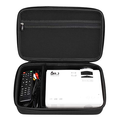 Aproca Hart Schutz Hülle Reise Tragen Etui Tasche für DR.Q Mini Beamer 3800 HI-04 / APEMAN Mini Beamer 1080P Full HD Video Projektor