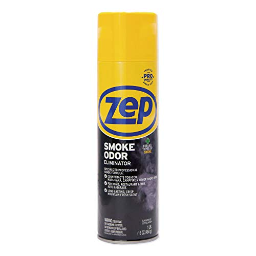 Zep Commercial Smoke Odor Eliminator 16 Ounce - 6-Pack