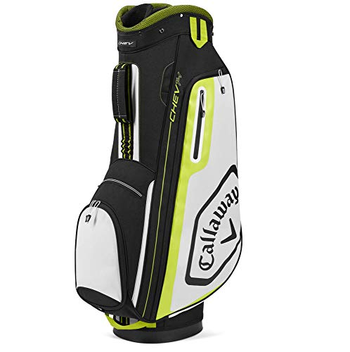 Callaway Golf 2020 Chev 14 Cart Bag Black/White/Yellow, One Size
