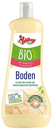 Poliboy - Bio Boden Pflege - Sorgfältige Reinigung und Frische für alle Böden und Flächen - Vegan - 1 Liter - Made in Germany