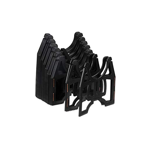 Valterra 10-Foot Slunky RV Hose Support, RV Sewer Hose Holder, Black