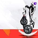DBXOKK-Silla de Ruedas Mejor Silla de Ruedas 2019 Nueva Silla de Ruedas eléctrica Plegable Silla de Ruedas motorizada Ligera y Resistente de Alta Potencia (Plata)