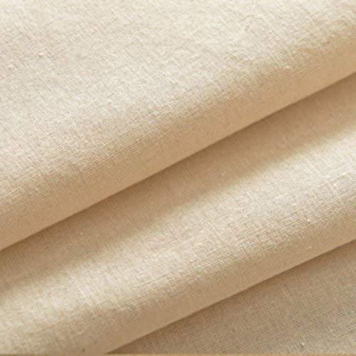 I Want Fabric Medelvikt extra bred 153 cm bredd 100 % bomull naturfärgad Kalifornienkurtan soffa väv väv väv foder