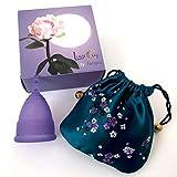 Luna Menstrual Cup Kit (1 Small Violet)