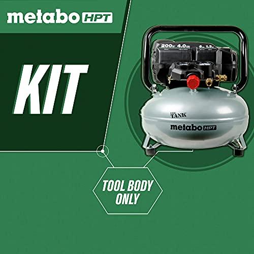 Metabo HPT 'THE TANK' Pancake Air Compressor, 200 PSI, 6 Gallon (EC914S)
