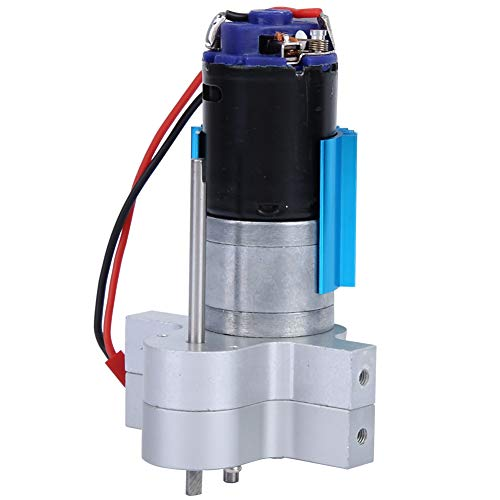 Dilwe RC Getriebe, Metall RC Crawler Auto Speed Change Getriebe Fit für WPL C14 C24 B14 B24 B16 B36 Fernbedienung Auto