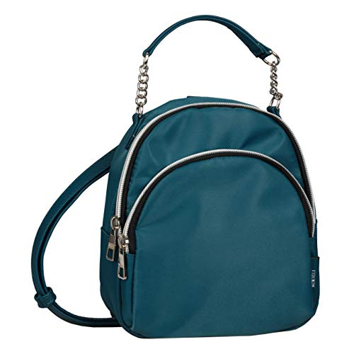 Tom Tailor Denim Women's Fenja Backpack Purse, Petrol, S