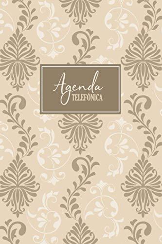 Agenda Telefónica: Organizador alfabético para almacenar contactos, direcciones, números de teléfono y correos electrónicos   Libreta de direcciones para adultos y personas mayors