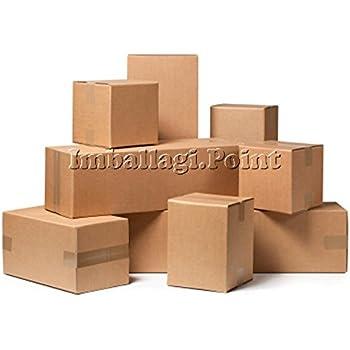 5 piezas caja de cartón embalaje envío 25 x 15 x 10 cm Caja Avana ...