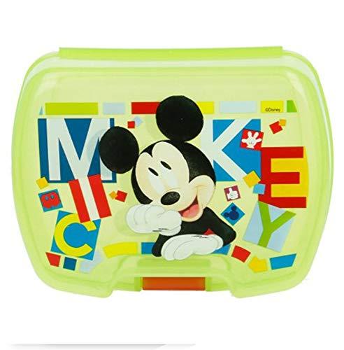 Boite à Goûter Grande Taille Mickey Disney Vert