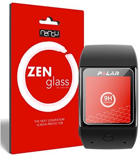 ZenGlass Flexible Glas-Folie kompatibel mit Polar M600 Panzerfolie I Bildschirm-Schutzfolie 9H I (Kleiner Als Das Gewölbte Bildschirm)