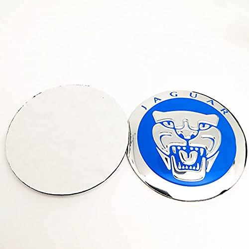 4 Piezas Coche Tapacubos, para 60mm 56mm Tiger Head Rueda Tapas Centrales Prueba de Polvo Decorativa Accesorios De Estilo