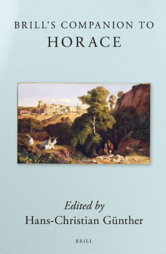 Brill's Companion to Horace (Brill's Companions to Classical Studies)