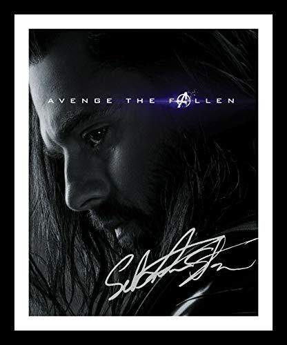 DS Sebastian Stan - The Winder Soldier Autogramme Signiert Und Gerahmt Foto