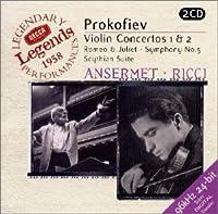 プロコフィエフ/ヴァイオリン 協奏曲 第1番 ニ長調 作品19