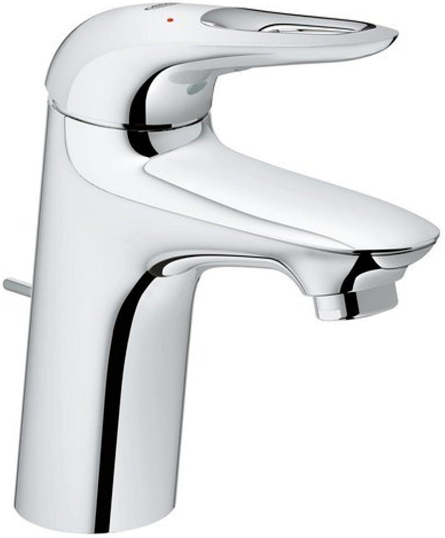 GROHE Eurostyle     Badarmatur - Einhand-Waschtischbatterie     mit Zugstange-Ablaufgarnitur, Chrom     23564003