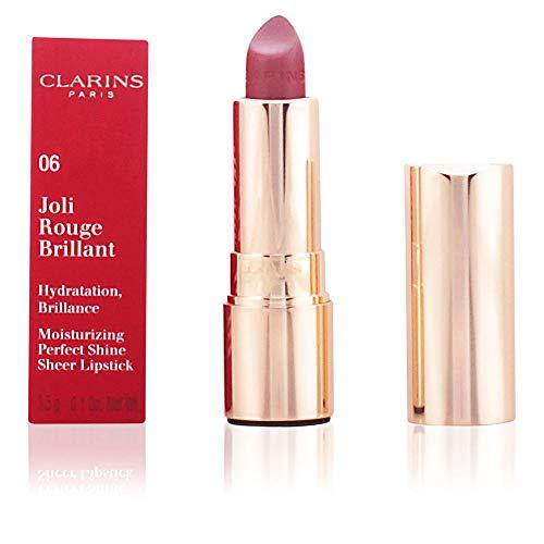 Clarins Joli Rouge Brillant Lippenstift, 06 Fig, 3,5 g