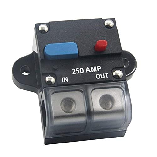 zhenxin Fusibles 80A 100A 150A 250A 300A Circuit Circuit Circuit Restablecer Sujetador de Fusible de restablecimiento automático Interruptor automático para automóviles para Audio de automóvil