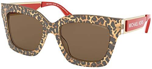 Michael Kors Damen 0MK2102 Sonnenbrille, Brown, 54
