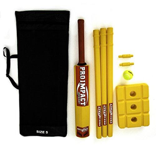 Pro Impact Cricket Sets (Beach Plastic)