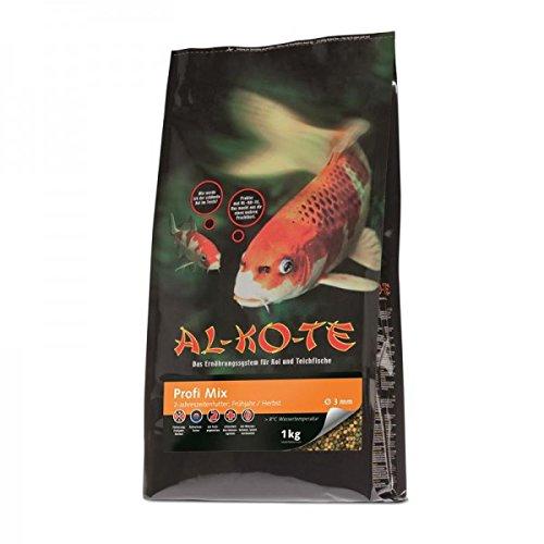 Fischfutter Teichfutter AL-KO-TE Profi-Mix Frühjahr Herbst 3 mm 1 kg Leistungsfutter
