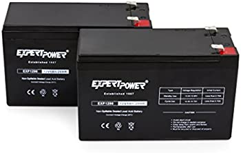 2-Pack ExpertPower Sealed Lead Acid Batteries