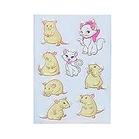 jokeWEN クリアスタンプ シリコンスタンプ 猫/マウスシリコンクリアシールスタンプDIYスクラップブックエンボスフォトアルバムの装飾