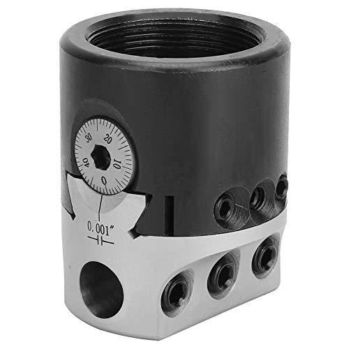 1/2 inch boorkop, Britse F1 boorkop Nauwkeurigheid 0,001 Gemaakt van mangaanstaal gebruikt in freesmachine of bewerkingscentrum