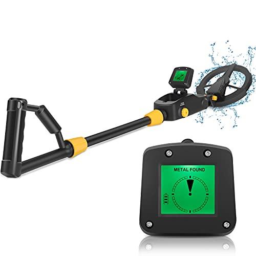 Metal Detectors for Kids, Kids Metal Detector Waterproof 6.3'' Search Coil,Adjustable Sensitivity LCD Display Audio Detection Indication Beginner Metal Detector for Junior & Youth